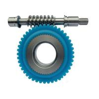 China Plastic worm gear on sale