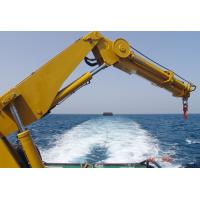 Buy cheap Hydraulic Telescopic Knuckle Boom Marine Ship Deck Crane from wholesalers