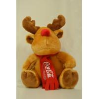 Quality Coca Cola Reindeer Soft Toy Plush Toy for sale