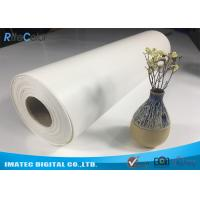"""Quality Outdoor Eco Solvent 380gsm Glossy Inkjet Pure Cotton Canvas Roll 122"""" for sale"""