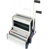 Quality Multi Functional Desktop Wire Comb Press Strip Punching Binding Machine for sale