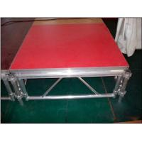 Quality Outdoor Wooden And Aluminum Assembling Portable Stage Easy Fast To Assemble for sale