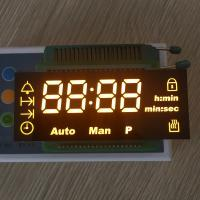 Buy cheap Custom design ultra amber led display common cathode for digital oven timer from wholesalers
