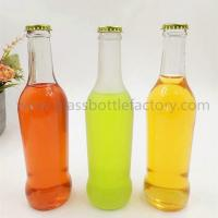 China 275ml Clear Soft Drink Glass Bottle With Crown Cap on sale