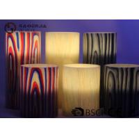 Quality Multi Color Real Wax Flameless Candles Set Of 2 For Home Decoration for sale