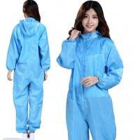 China Blue Disposable Protective Coveralls Non Toxic Dust Prevention OEM Available on sale