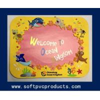 Quality Creative Customized 3D Soft PVC Photo Frames / Plastic Picture Frames for Promotion Gifts for sale