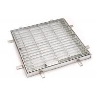 Quality CE Standard Steel Grating Cover Smooth Surface , Trench Grate And Frame for sale