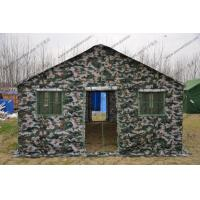 Quality 4x6M Camouflage Military Army Tube Tent Easy To Install And Disassemble for sale