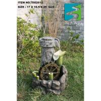 China Mill stone Water fountain,bamboo water fountain on sale