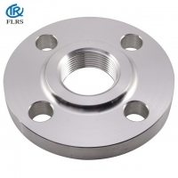China ASME/ANSI/DIN Forged carbon steel/stainless steel/alloy steel Threaded Flange For Urban / Industrial Building Machinery on sale
