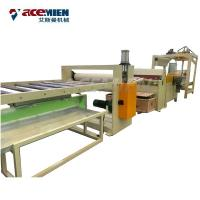 Quality Plastic Wooden Flooring Manufacturing Machines SPC Click Flooring Online EIR Stone for sale