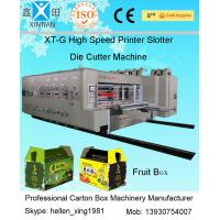 Best Semi Automatic Die Cutting Machine , Recycled Cardboard Printer Machine For Packaging wholesale