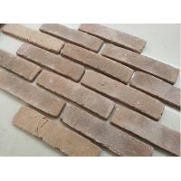 Buy cheap Clay facing exterior thin brick veneer rustic type thin brick tiles for hotels from wholesalers