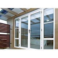 China Arched Decorative Glass Entrance Doors Sound Insulation For Commercial Building on sale