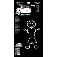 Buy cheap Car Family Decal---Boy from wholesalers