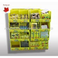 Best Pantone Color Cardboard Pallet Display / Cardboard Display Stands Advertising wholesale