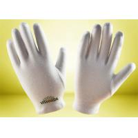 Quality Beauty Skin Cotton Cosmetic Gloves Comfortable Cotton Material Light Weight for sale