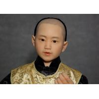 Best Hand Made Lifelike Wax Sculpture For Decoration , Tourist Resort  Exhibition wholesale