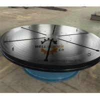 Quality Heavy Duty Welding Turn Table Infinitely Variable Rotation Speeds For Automatic Welding for sale