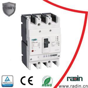 Quality White Adjustable MCCB Electrical Circuit Breaker 3P 4P Mould Case SMT6E for sale