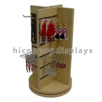 Best Countertop Slatwall Display Fixtures Commercial Gifts Retail Rotating Display Stand wholesale