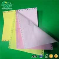 China 3 Ply Continuous Feed Printer Paper Sheet Paper Form  Box Packing High Abrasion Resistance on sale