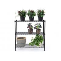 Space Saving Metal Kitchen Shelves Cold - Rolled Steel Material Height Adjustable