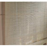 Quality Multi Color Bamboo Patio Door Blinds Natural Grain For Stream Room for sale