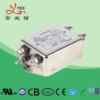 China 10A Electrical Power Line Filters For Medical Equipment Low Leakage Current on sale