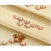 Best Peach color crystal rhinestone non hot fix stone preciosa strass wholesale