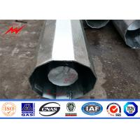 Best Hot Dip Galvanized 17M Electric Steel Tubular Pole Gr50 Transmission Line Poles wholesale