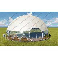 Quality Luxury Geodesic Dome Tent Geodesic Camping Dome For Projecter Or Projection Vedios for sale