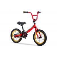 "Quality 14"" High Carbon Steel Multi-function 2In1 Kids Balance Bike  BMX Bicycle With Adjustable Saddle  for 2-12 Years Red for sale"