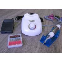 Quality White Color Professional Nail Drill Machine / Electric Acrylic Nail Drill for sale