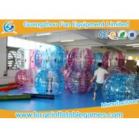 Quality TPU 1.5m Inflatable Bubble Ball Human bumper ball Balloon Soccer CE Certification for sale