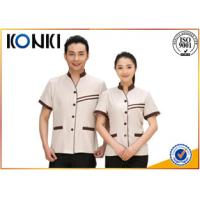 China Delicate Handwork Hotel Staff Uniform Female And Male Various Colors on sale