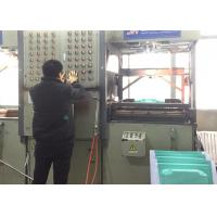 Quality HIPS Plate Thermoplastic Vacuum Forming Machine Double Heating Temperature for sale