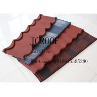 Quality Wind resistance galvanized Stone Coated Roofing Tiles for Middel East for sale