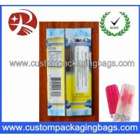 Buy cheap Promotional Plastic Food Custom Packaging Bags For Clear Ice Lolly from wholesalers