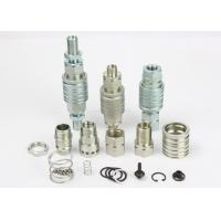 ISO5675 Hydraulic Quick Connect Couplings , Pull And Push Type Hydraulic Quick Connect