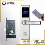 Quality 2015 Design RF key card SS304 Big LED Display hotel lock for sale