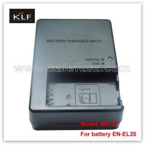 Quality Digital Camera Charger MH-27 for Nikon battery EN-EL20 for sale