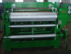 Quality Automatic electric steel welded wire mesh machine for roll fence for sale