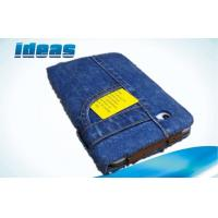 Quality Flip Tablet jean Samsung Galaxy Tablet 10.1 Leather Case with stand Cover wallet cases for sale