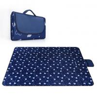 Quality Moisture Proof Outdoor Picnic Mat , Custom Packable Picnic Blanket for sale