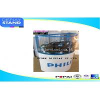 Best Bucket design recyclable retail cardboard Pallet Display ,dumo bin for store wholesale