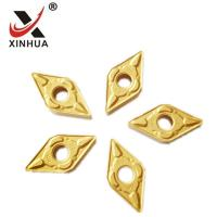 Buy cheap Gold Tungsten Carbide Turning Inserts , Cemented Carbide Inserts DNMG150608 from wholesalers