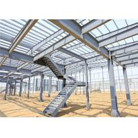 Quality Lightweight Steel Storage Buildings , H Section Galvanized Steel Frame Building for sale