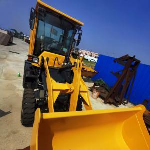 Quality 2850mm 0.6m3 1500Kg Loading Wheel Loader Machine for sale